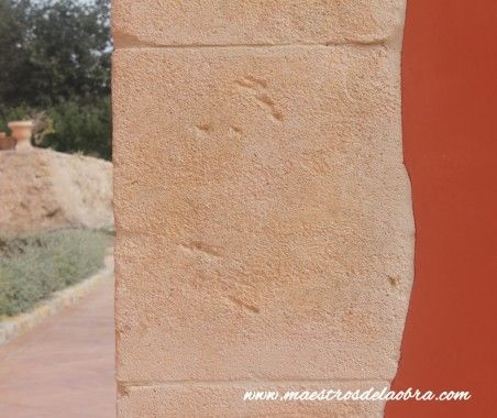 Piedra Natural, rehabilitación de arco de piedra